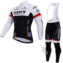 2016 Men's trekking Winter Fleece Thermal Long Sleeves Cycling Jersey Ropa Ciclismo MTB Bike Wear Bicycle Clothing Free Shipping