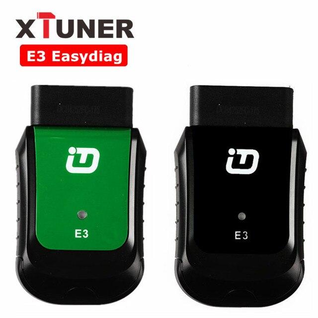 XTUNER E3 Easydiag Full OBDII Diagnostic Tool WIFI AutoMotive Scanner For Asia, America, Europe, Australia Vehicle