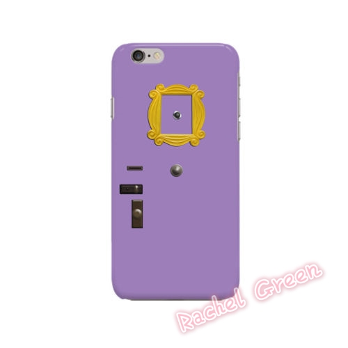 hot friends tv show door frame design cell phone case cover for iphone 5 5s se