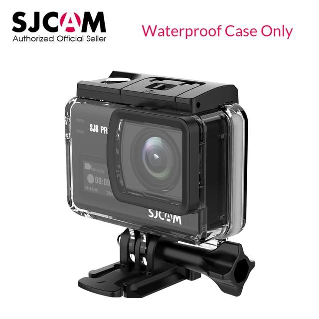 Underwater Waterproof Case para SJCAM originais SJ8 Ar SJ8 Plus SJ8 Pro Mergulho 30 M Ação Cam DVR SJCAM Acessórios