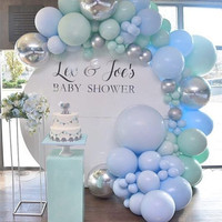 Wedding birthday baby shower iron circles large arch backdrops decor DIY Metal rack for welcoming stage balloon flowers decor