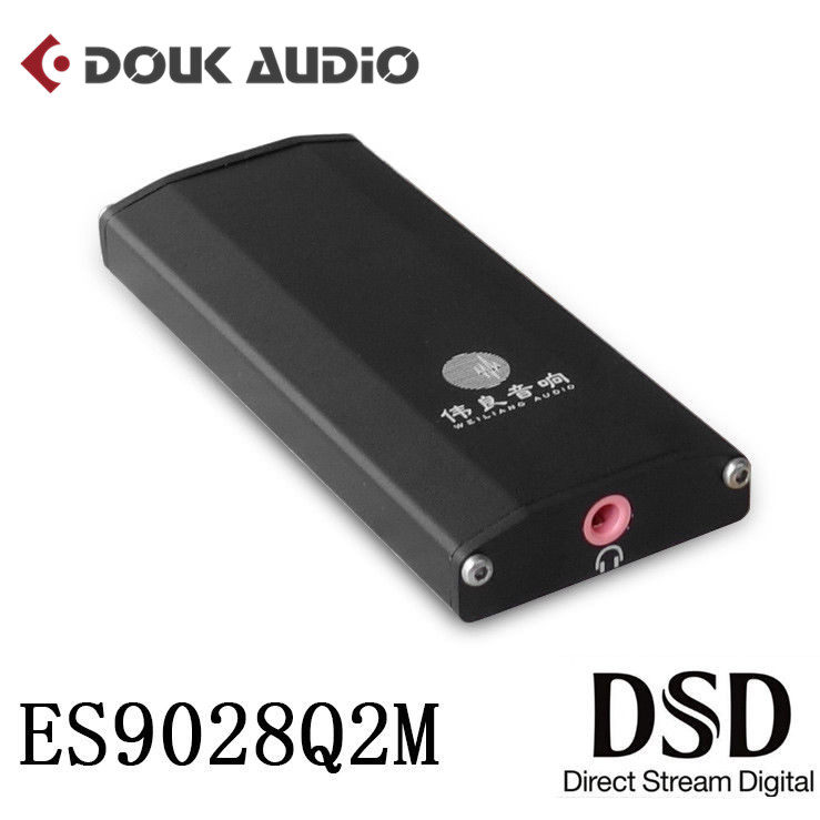 DAC ES9028Q2M SE4 Portable Amplifier DSD HiFi Audio USB Decoder for PC and Phone With Headphone