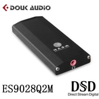 DAC ES9028Q2M SE4 Portable Amplifier DSD HiFi Audio USB Decoder for PC and Phone With Headphone Jack