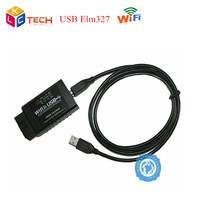 2019 Hot Selling ELM327 Wifi USB Scanner Wi Fi ELM 327 OBDII Car Diagnostic Interface Scanner Works With All OBD II Protocol