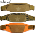 Sinairsoft Men Women Waist Bag Unisex  Nylon Packs Waistband Small Travel Belt B