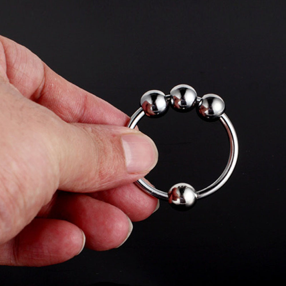 Stainless Steel Penis Ring Cock Premature Ejaculation Erection Impot Delay Ring U70324 cockring lasting product