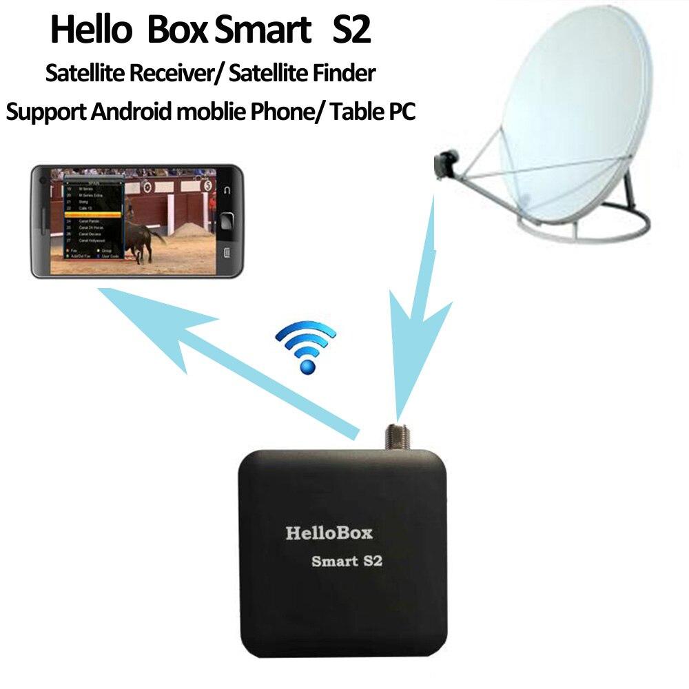 Hellobox Smart S2 Satellite Finder Satellite Receiver TV Play On Mobile Phone/Tablet TV Receiver DVB Player DVB Finder Receptor