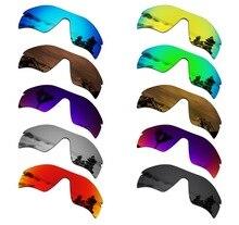 Lentes de substituição polarizadas smartvlt para óculos de sol oakley radar path várias opções
