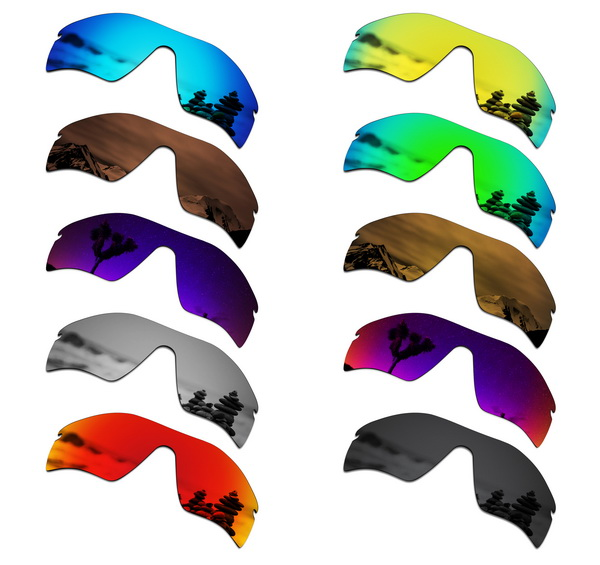 SmartVLT Polarized Replacement Lenses For Oakley Radar Path Sunglasses - Multiple Options