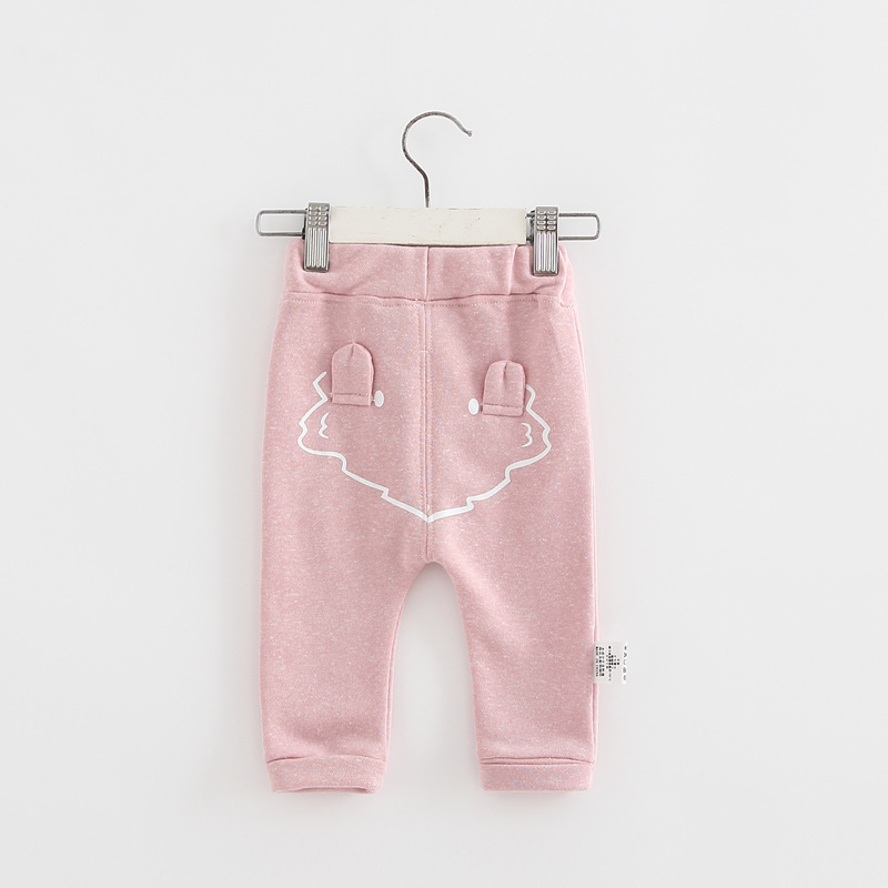 2017 spring new arrival cute Infant Baby Boys Girls back cartoon Bottom Harem Pants Leggings Pants Trousers for 0-24M drop ship (12)