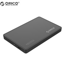 ORICO 2588C3-BK 2.5 inch Type-C Hard Drive Enclosure 6Gbps Superspeed (not include HDD)- Black