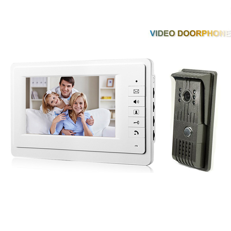 где купить XSL-V70F-F 1V1 XSL manufacturer 2016 Hot sale 7 inch LCD multi apartment video door phone with video intercom system дешево