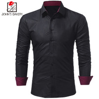 Men Shirt 2018 Spring New Brand Three Styles Business Men S Slim Fit Dress Shirt Male