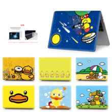 цена на Yellow duck image shell Case For MacBook Air Retina Pro 11 12 13 15 For MacBook New Pro 13 15 with Touch Bar New Air 13
