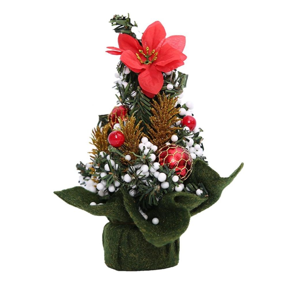 Christmas Tree Decorations Aliexpress: Aliexpress.com : Buy 2017 Mini Artificial Christmas Tree