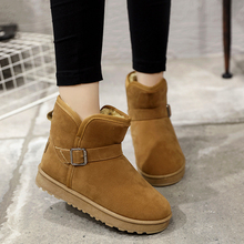 High Quality Winter Fashion Women's Winter Boots Short Boots Thick Warm Antiskid Cotton Woman Snow Boots With Fur Lady Boot