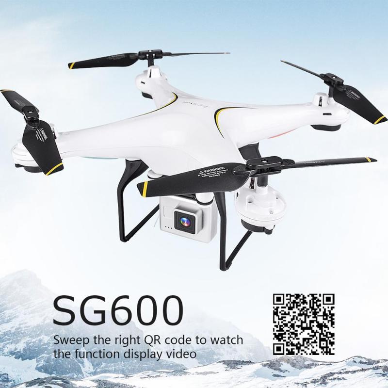 VODOOL SG600 Mini FPV WiFi Drone RC avec 0.3MP/2MP 720 P HD caméra Altitude tenir une clé retour RC quadrirotor Drone hélicoptère nouveau