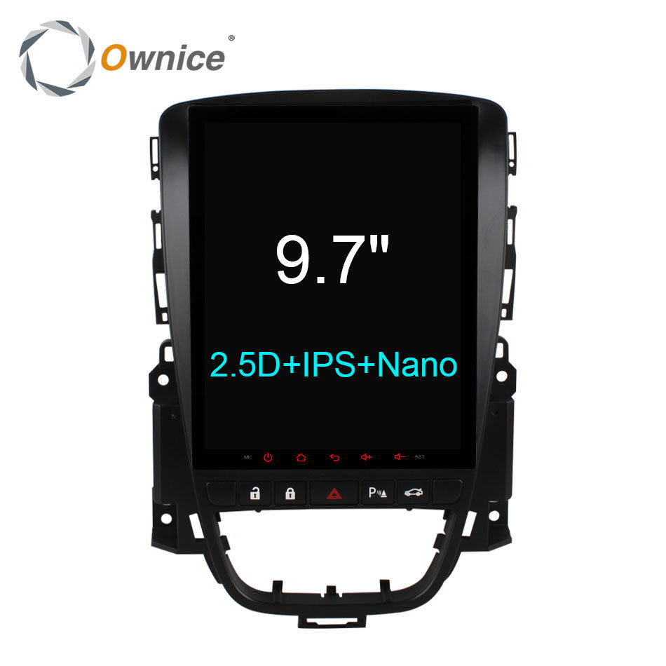 Ownice C600 Vertical 9.7 Android 6.0 car dvd player for Buick Excelle XT GT 2006 - 2016 navigation radio gps stereo 4G LTE SIM