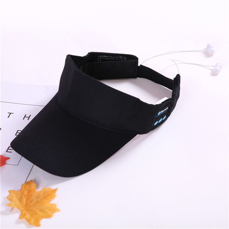 Summer Bluetooth Hat Cap Sport Headset Cap Music Baseball Cap with Microphone for Music Listening Phone Call for Mobile/Sport wireless bluetooth music beanie cap stereo headset to answer the call of hat speaker mic knitted cap