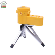 New Adjustable Plastic Multifunction Laser Level Leveler Tool with Tripod Useful Vertical Horizontal Line Tool