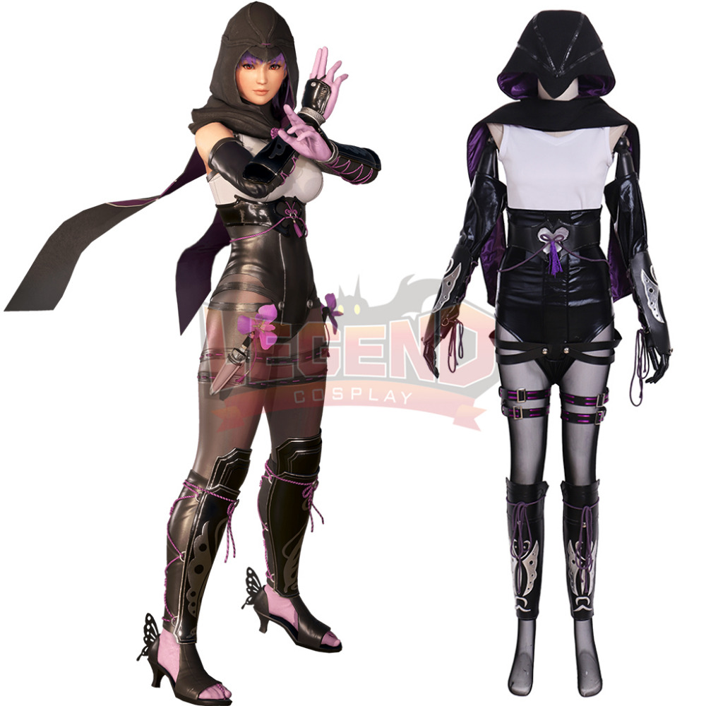 Cosplaylegend Dead or Alive 6 Ayane cosplay adult costume Custom made full set all size with