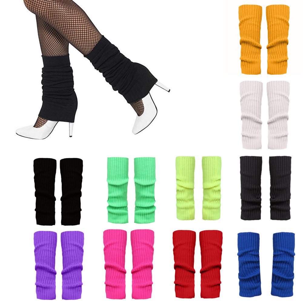 1Pair Ladies Knitted Leg Warmers Fit For Autumn Sport Girls|Leg Warmers|   - AliExpress