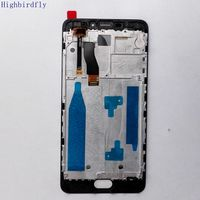 Highbirdfly For Meizu M5 Note M621H M621Q M621M Lcd Screen Display Touch Glass Digitizer Frame Assembly