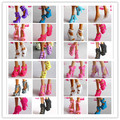 Free Shipping,Girl Birthday Gift 20 Pair Doll Shoes Mix Style Mix Color Shoes For Barbie Doll