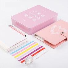 Luxury DIY Agenda B6 Notebook for Girls Diary Planner Organizer Love Gifts Note Book Travel Journal Sketcbook Dokibook Fichario