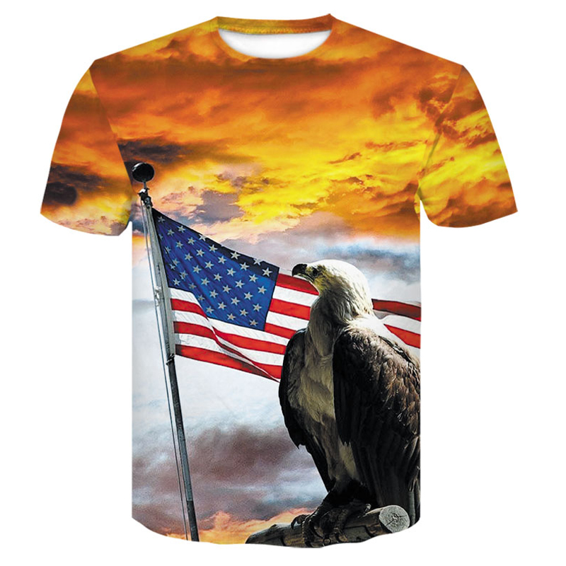 New USA Flag T shirt Men Women Sexy 3D Print Striped American Flag Men T Shirt Summer Tops Tees large size men 39 s tshirt 4XL in T Shirts from Men 39 s Clothing