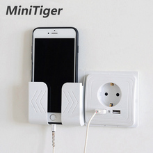 Minitiger Smart Home 2A Dual USB Port Ladegerät Adapter Lade Buchse Mit usb Wand Adapter EU Stecker Buchse Power outlet(China)