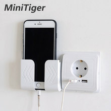Minitiger สมาร์ท 2A Dual USB Port Wall Charger ADAPTER ซ็อกเก็ตชาร์จ USB WALL ADAPTER EU PLUG SOCKET Power outlet(China)