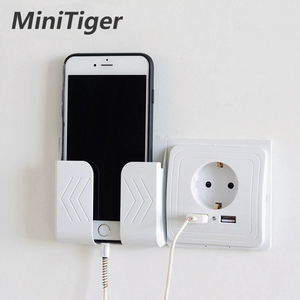Minitiger Smart Home 2A Dual USB Port Wall Charger Adapter Charging Socket With usb Wall Adapter EU Plug Socket Power Outlet(China)