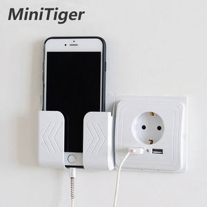 Minitiger Smart Home 2A Dual USB Port Wall Charger Adapter Charging Socket With usb Wall Adapter EU Plug Socket Power Outlet