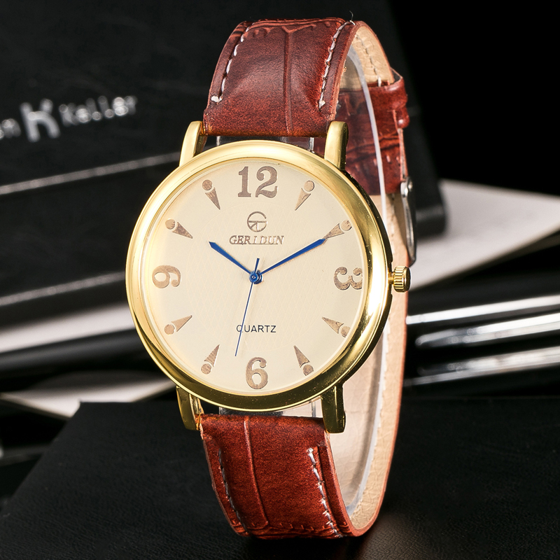 우수한 품질의 새로운 브랜드 럭셔리 쿼츠 시계 - 남성 시계