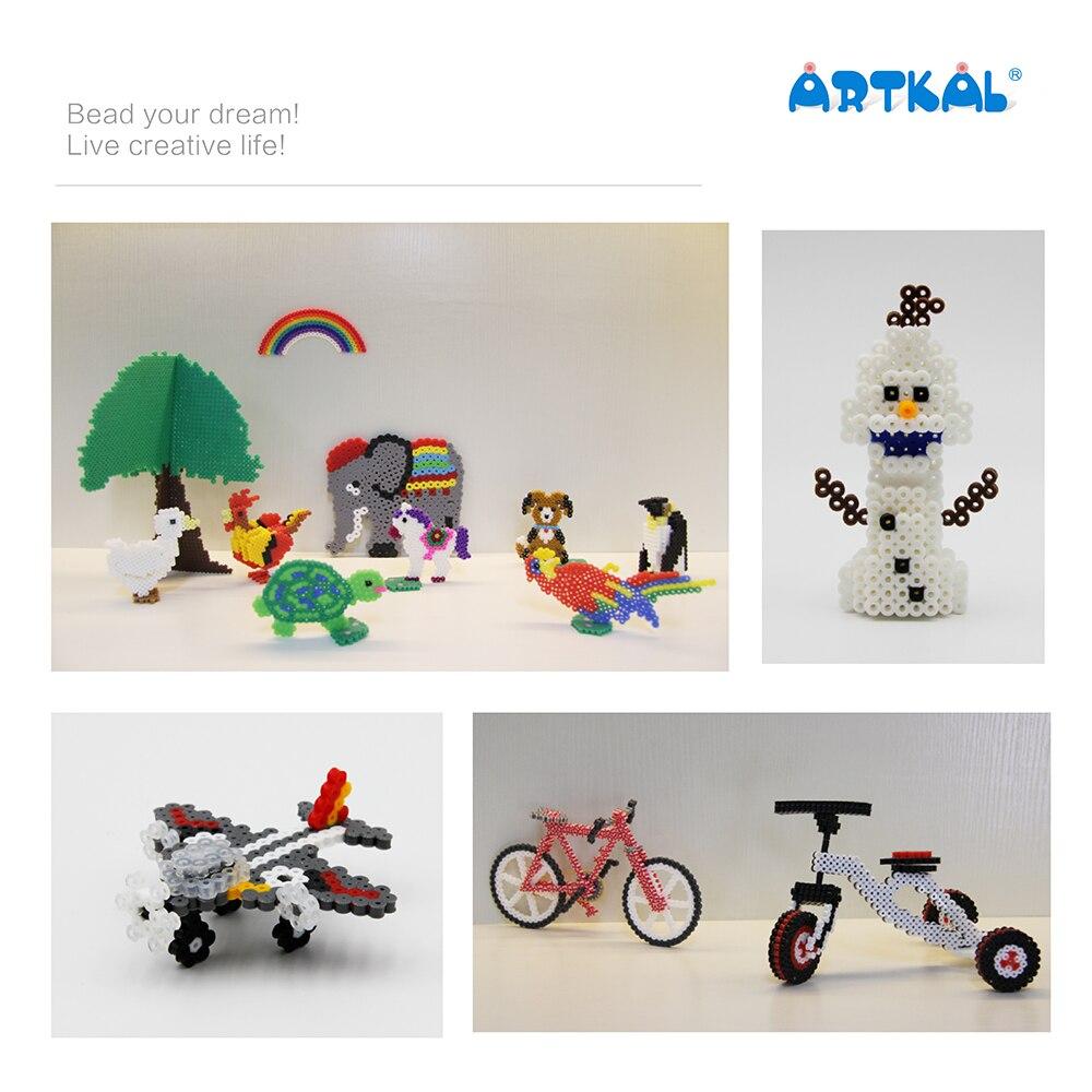 Бисер artkal 36 Цвет коробка набор миди Perler бисер Семья Развивающая игра для детей CR36