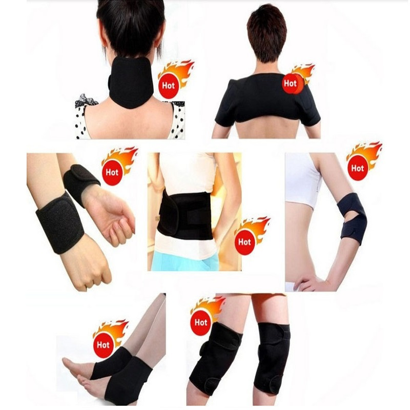 Tourmaline self-heating waist belt kneepad neck wrist ankle support shoulder pad elbow magnetic therapy Braces set health care