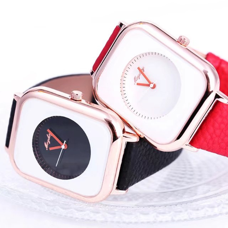 Brand Irregular Design Fashion Creative Women Watches Neutral Leather Colors Quartz Ladies watch Relojer Feminino Female GiftBrand Irregular Design Fashion Creative Women Watches Neutral Leather Colors Quartz Ladies watch Relojer Feminino Female Gift