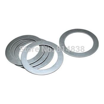 Wkooa M5x8x0.1 Shim Washers Supporting Rings Material Stainless Steel 1000 Pcs