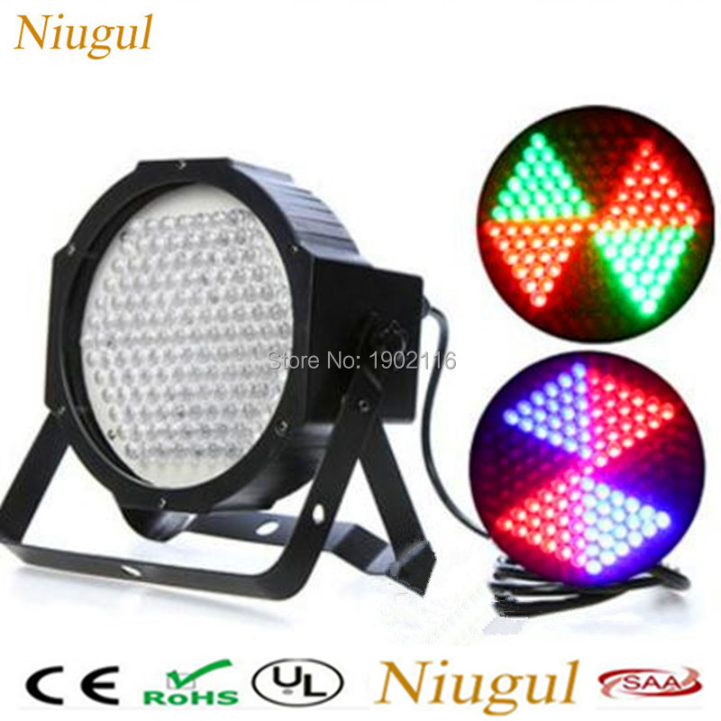 127Pcs RGB Color Mixing LED Flat PAR DMX512 Strobe Light Stage Lighting Effects DJ Disco Wash Can Lights LED KTV home party lamp 2pcs dj disco par led 54x3w stage light dmx strobe flat luces discoteca party lights laser rgbw luz de projector lumiere control