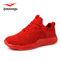 Cool Running Shoes For Men 2016 Autumn Lightweight Sneakers Runs Shoes Sport Shoes Men Black Red