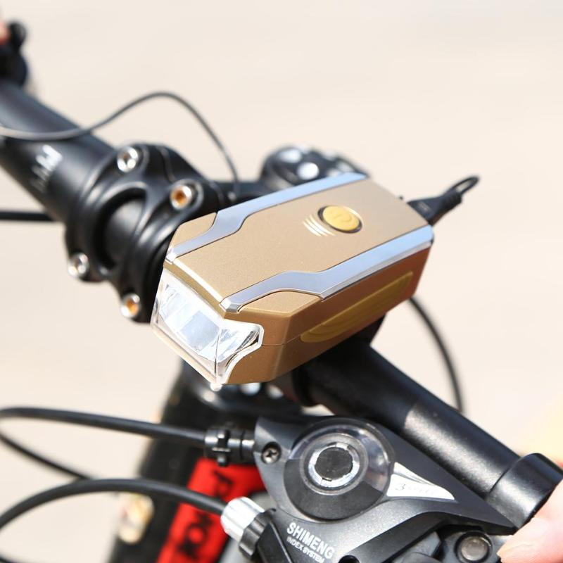fa19f6f892b 1 x Bicycle Headlight (including base+horn switch) 1 x USB Cable 1 x  English Manual