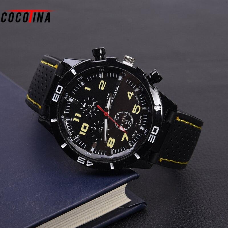 45deb676314 Moda Dos Homens Do Esporte de Quartzo Relógio Eletrônico Militar De ...