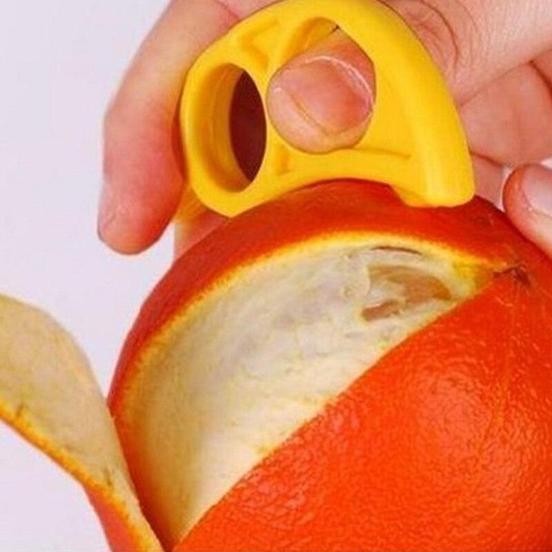 3 Pcs /bag EDC Finger Open Peel Orange Device Kitchen Gadgets Support Wholesale