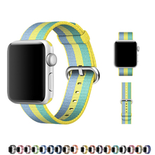 CRESTE Nylon watch strap For apple watch band 42mm 38mm bracelet wrist watchband for iwatch series