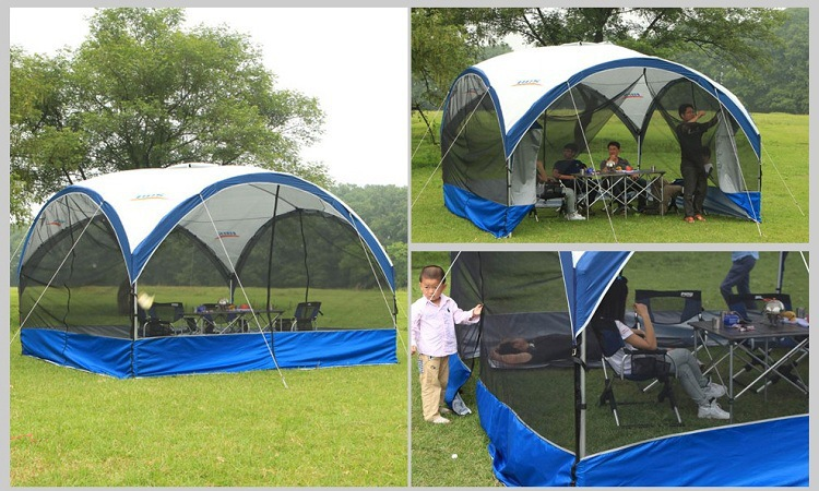 2015 new large tent camping tent canopy mosquito net canopy gauze breathable thin and light outdoor - Large Canopy 2015