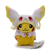 Kawaii Anime Pikachu Cosplay Audino 8 20cm Plush Toy Soft Stuffed Dolls Gift For ChildrenFree Shipping