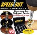 4 unid/set velocidad broca dañada Extractor de tornillos removedor taladro para eliminar cualquier tornillo pelado (phillips. de Hex)