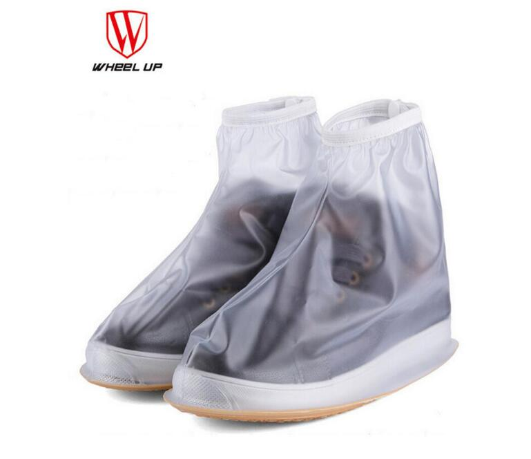 WHEEL UP Cycling Shoe Covers PVC Rubber Sole Cycling Overshoe Overschoenen Wielrennen Waterproof Bike Bicycle Equipment