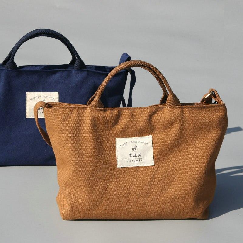 Designer Messenger Bags Leisure Canvas Simple Crossbody Bag Ladies Retro Tote Bolsa Feminina